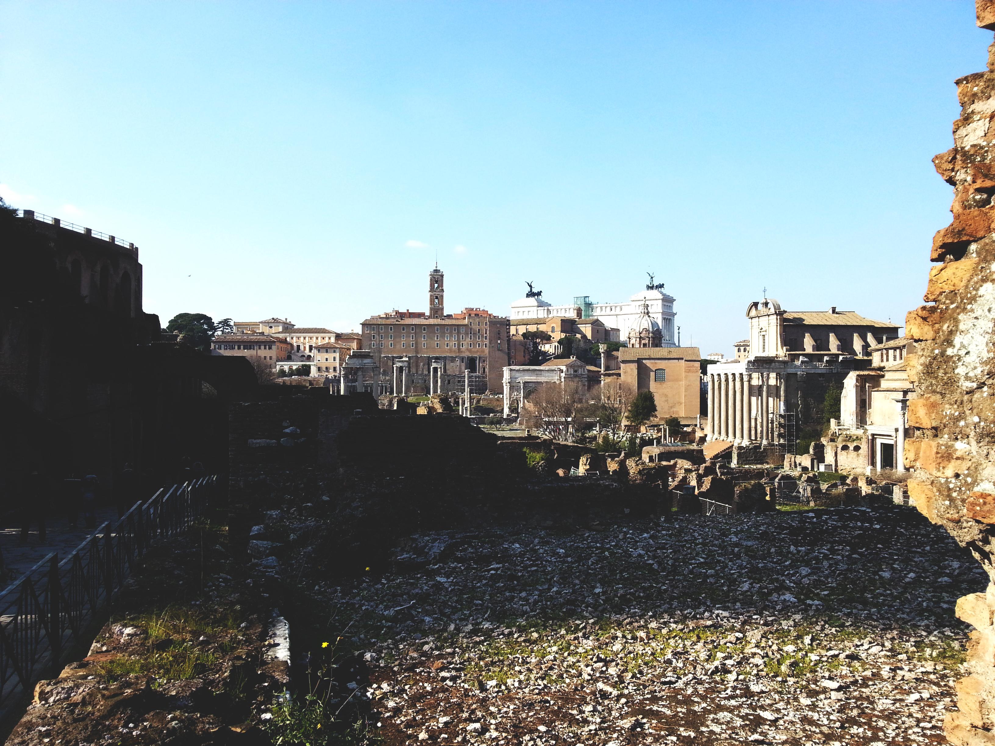forum rome italie a visiter