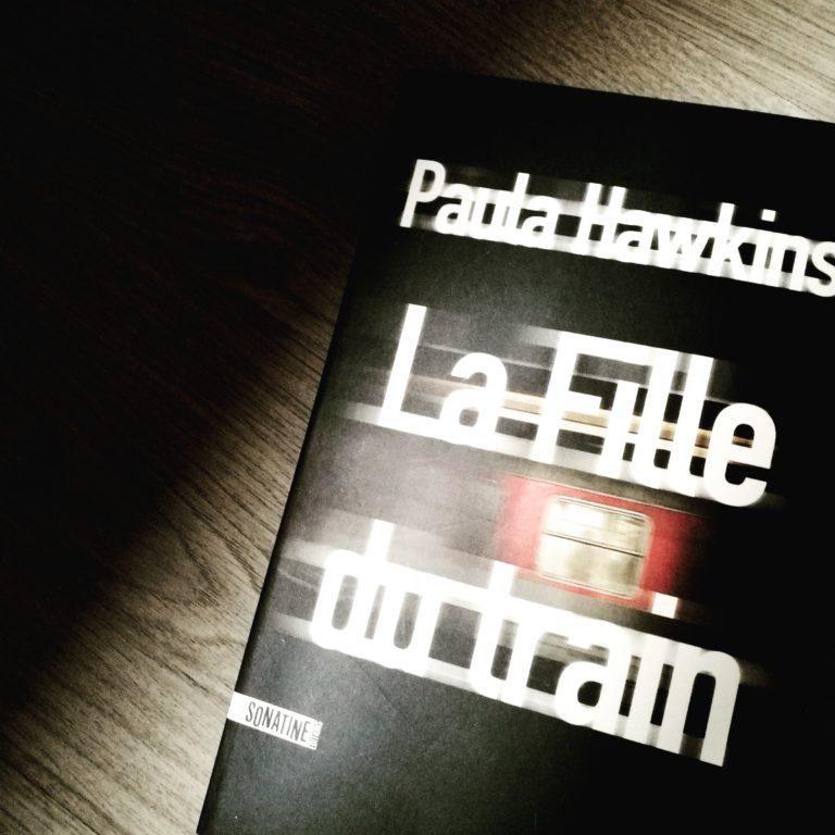 Livre thriller La fille du train de paula Hawkins