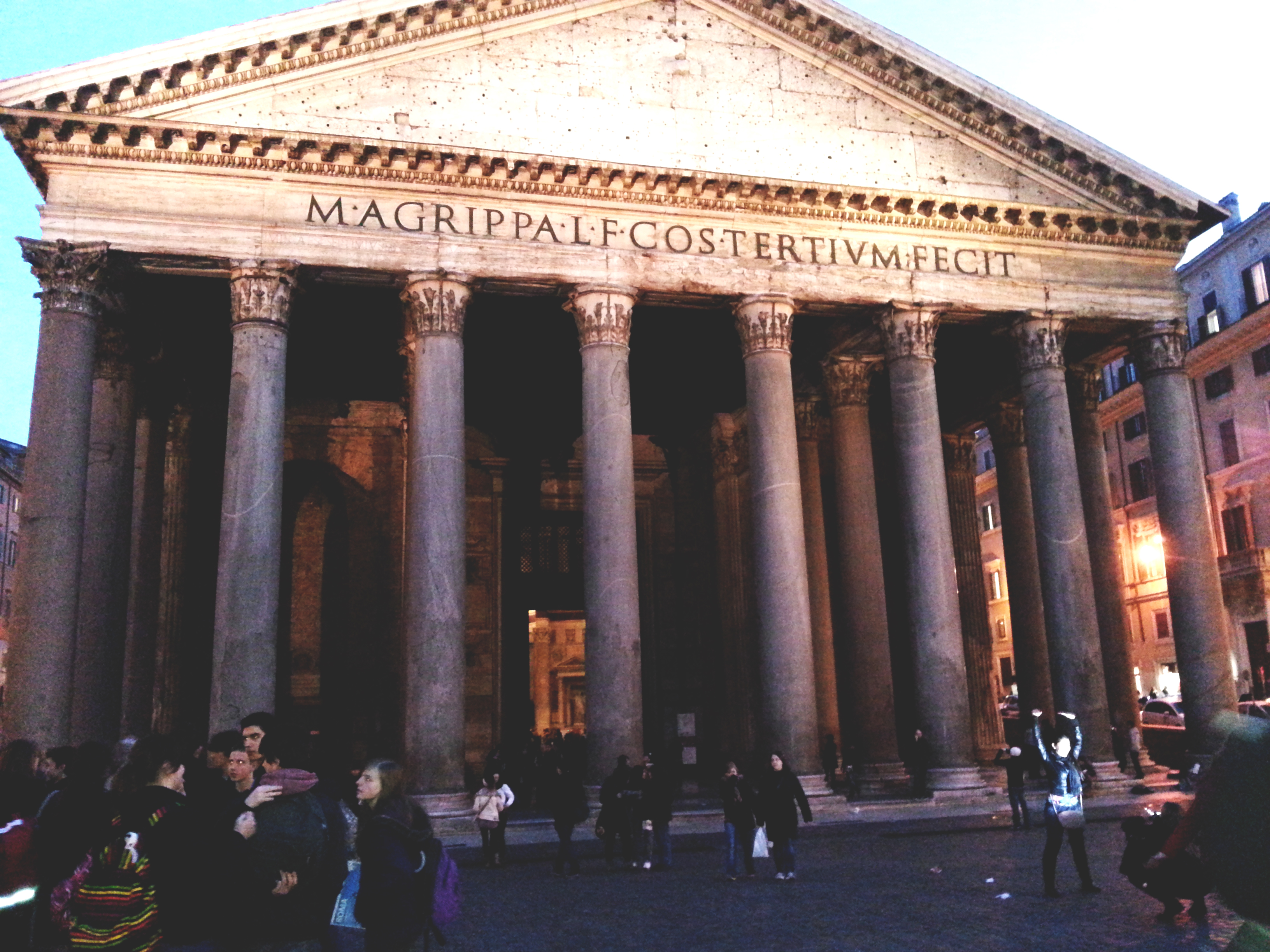 pantheon rome italie voyage a visiter