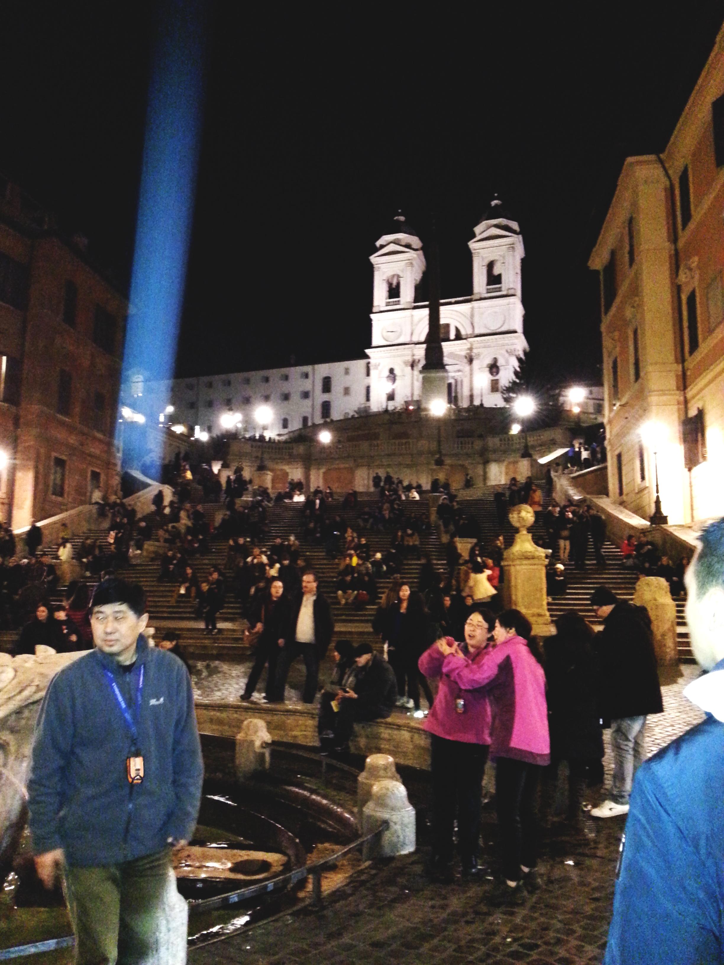 place de l'espagne a visiter voyage en italie