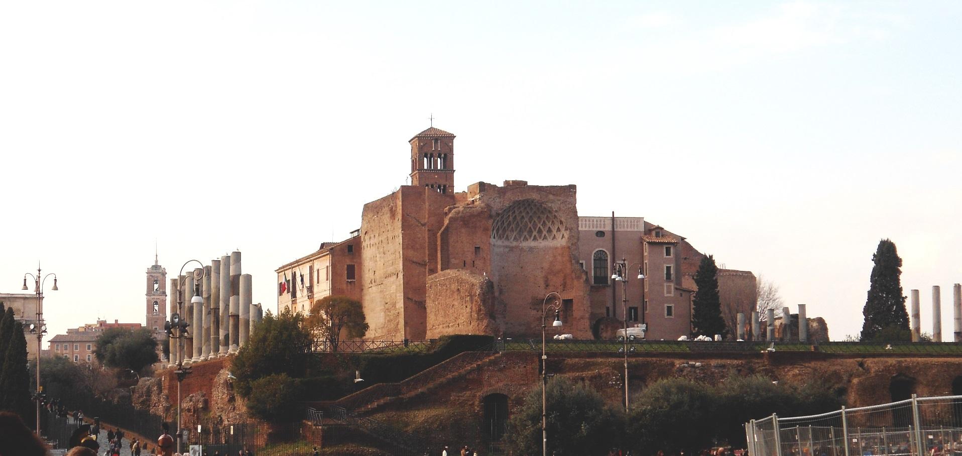 rome forum italie