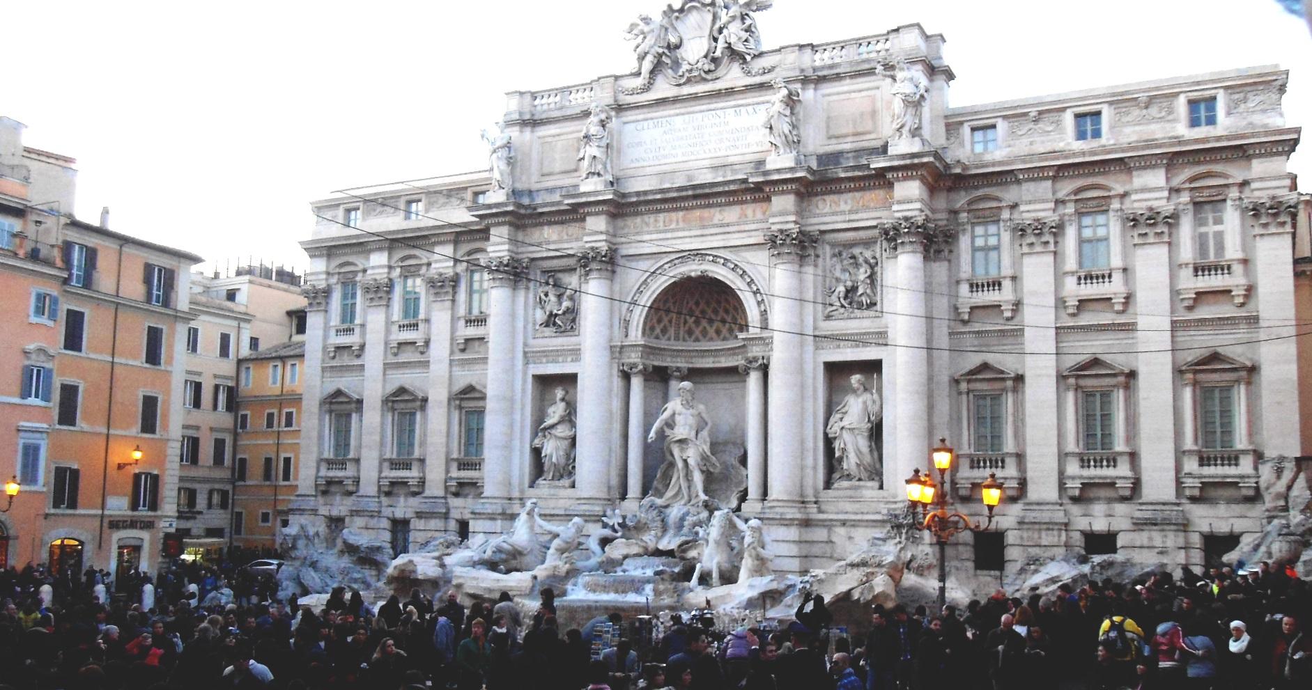 fontaine di trevi rome