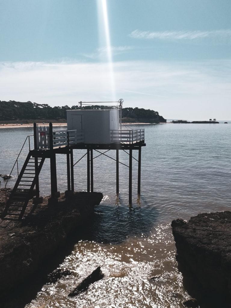 photo cabane pécheur Ballade saint palais sur mer royan