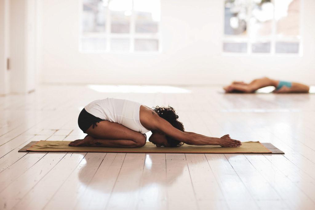 Les jolis moments du mois lancement activité yoga