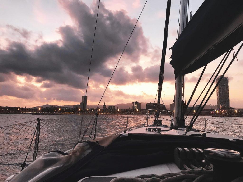 bateau jolis moments du mois - barcelone evjf