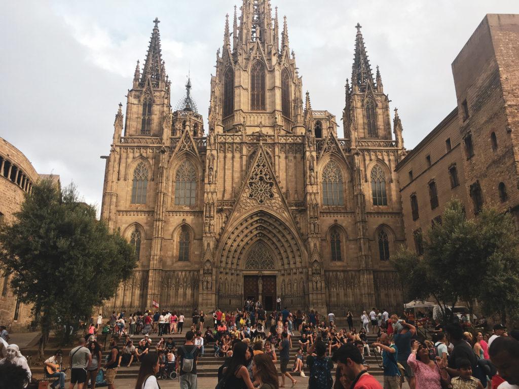 sagrada familia barcelone evjf