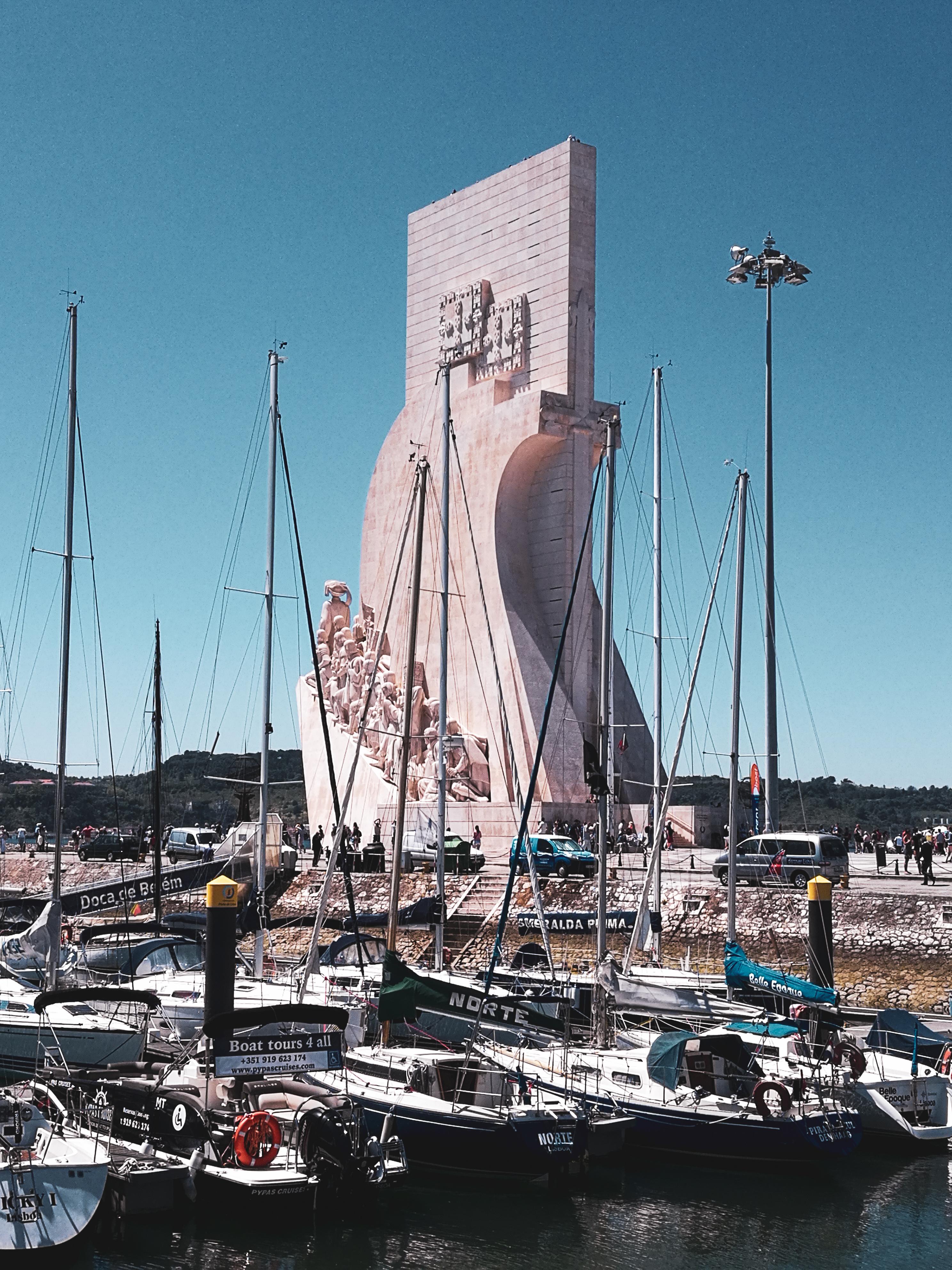 Monumento das Descorbertas quartier Belem à Lisbonne