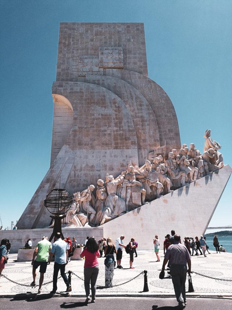 Monumento das Descorbertas quartier belem lisbonne