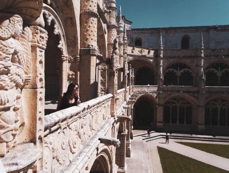 Mosteiro dos Jeronimos Lisbonne quartier Belem monastère