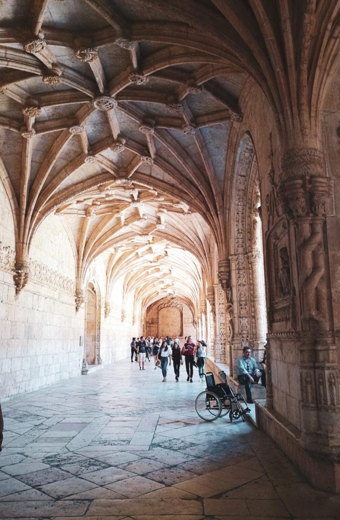 Mosteiro dos Jeronimos Lisbonne monastère quartier Belem