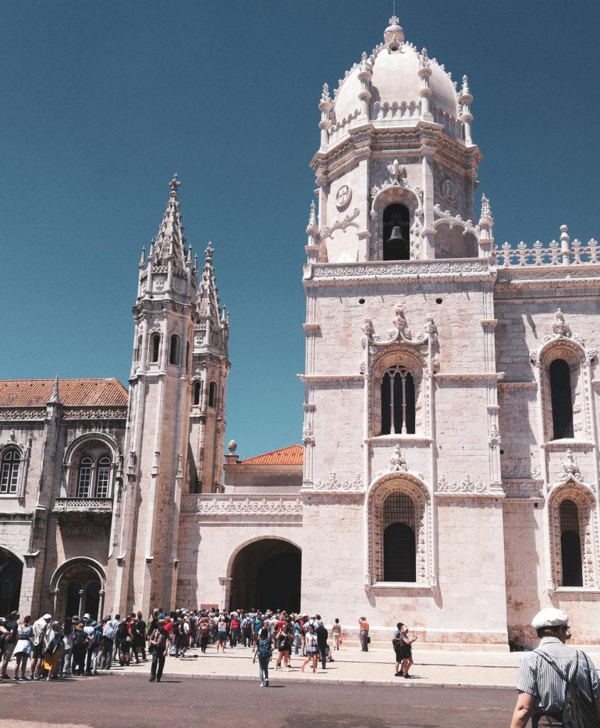 Mosteiro dos Jeronimos quartier Belem monastère de Lisbonne