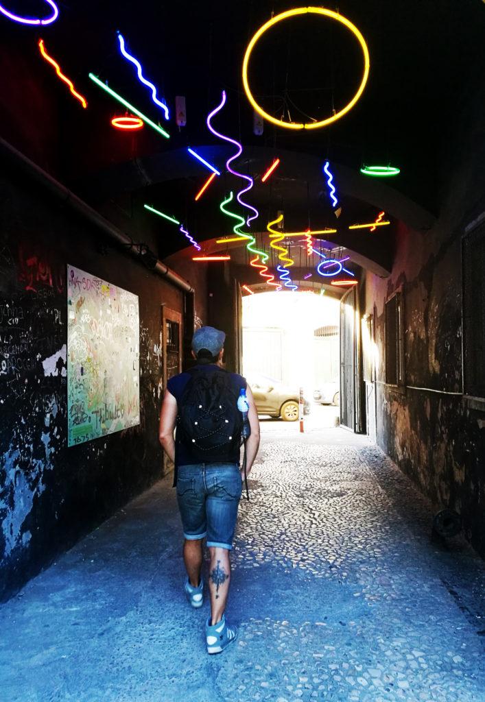 Street Art quartier lisbonne belem LX Factory