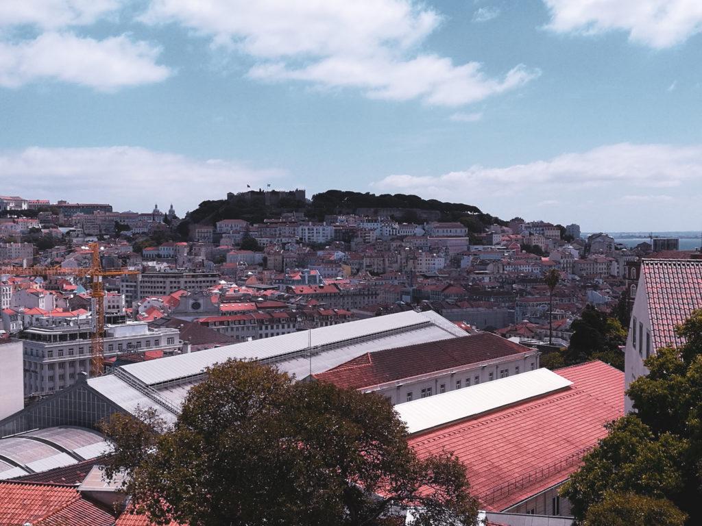 Miradouro de Sao Pedro de Alcantara lisbonne