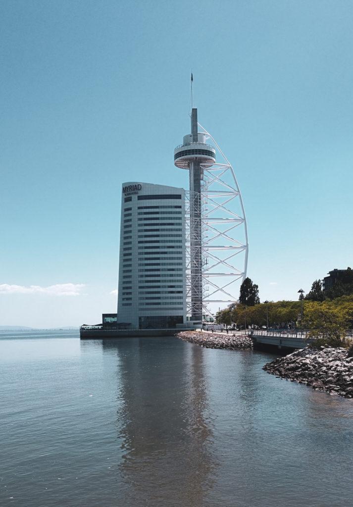 torre vasco de gama lisbonne