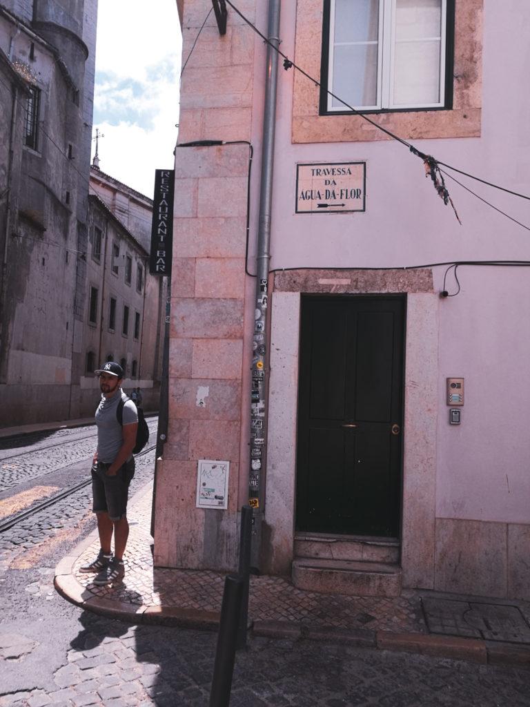 centre ville lisbonne blog rue rose