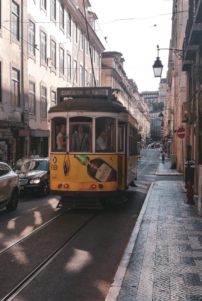 centre ville lisbonne tramway