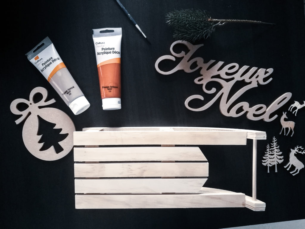 Noel blog décoration DIY materiel
