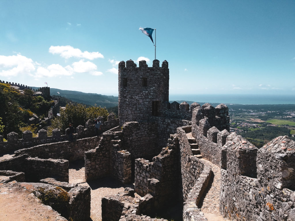 Tour Castelo dos mouros sintra lisbonne