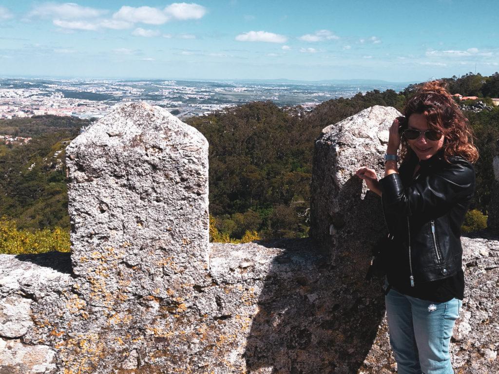Lisbonne sintracastelo dos mouros