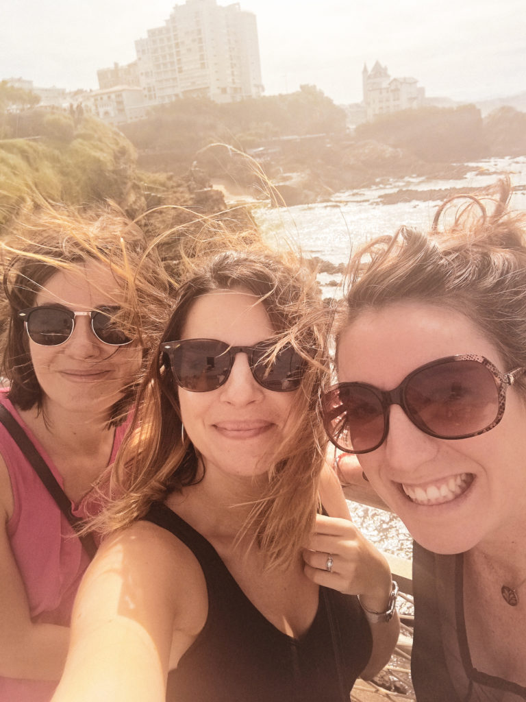 amies weekend pays basque biarritz