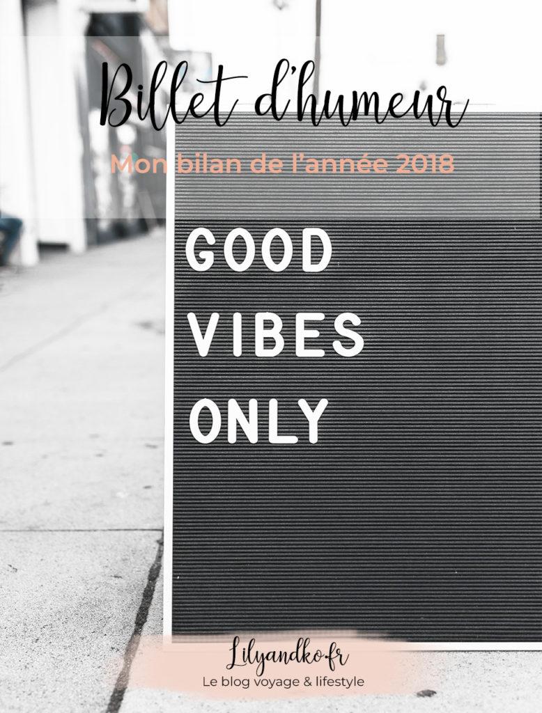 Pinterest bannière bilan de l'année 2018