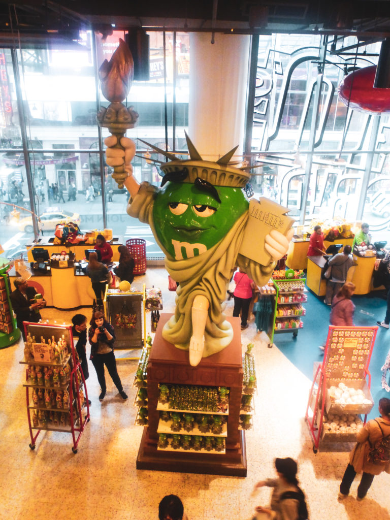 boutique m&m's new york
