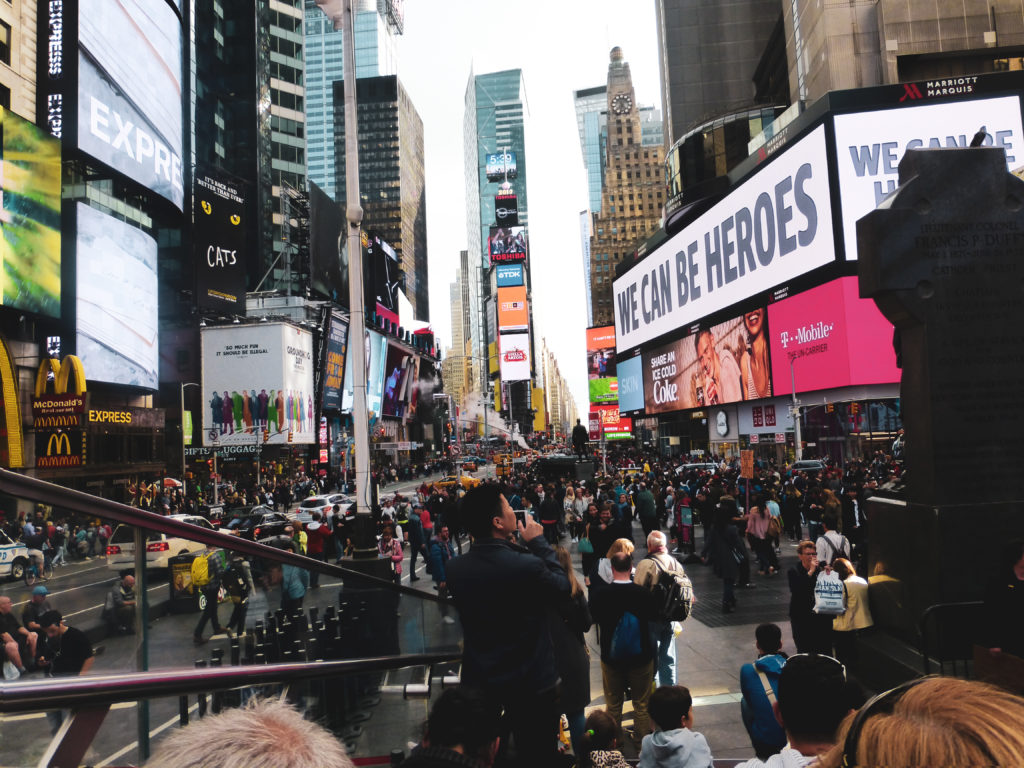 place times square de jour new york