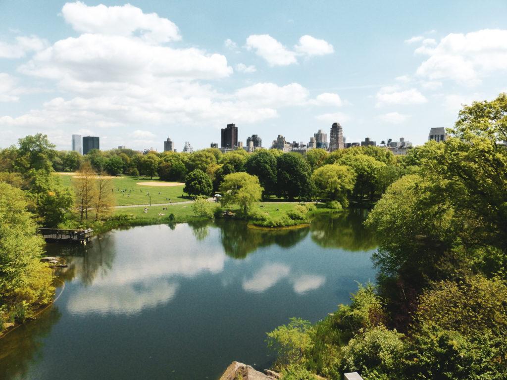 central park étendue d'eau