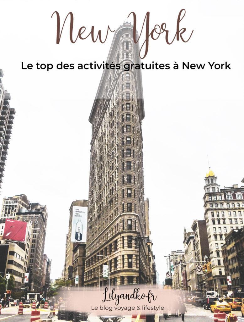 Pinterest top activités gratuites à new york