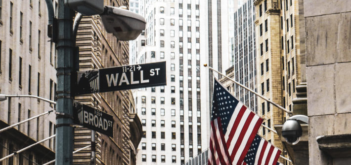 Quartier wall street de new york