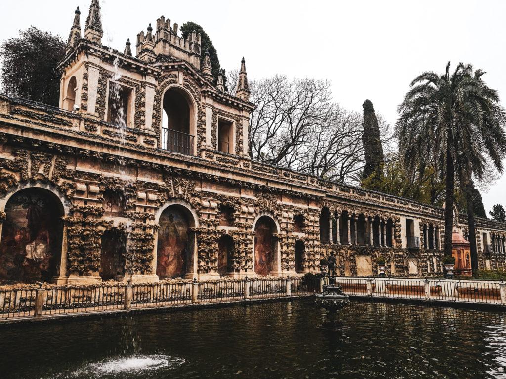 Seville palais alcazar