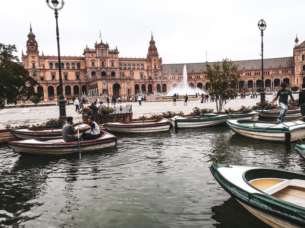 Seville Place de l'Espagne vue