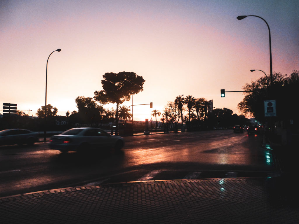 Seville - coucher de soleil