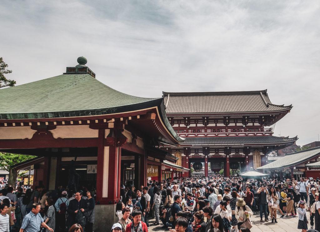 Quartier Asakusa à Tokyo- sensoji