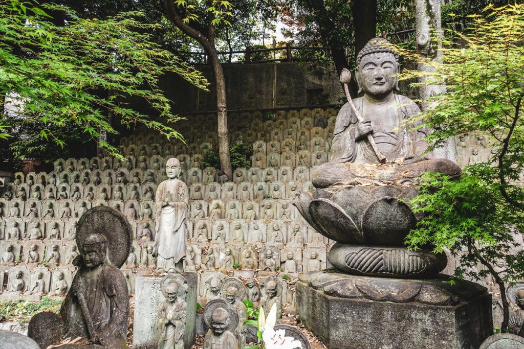 Quartier Meguro à Tokyo - temple