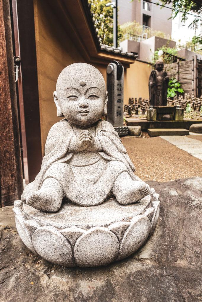 Quartier Meguro à Tokyo - temple bouddha