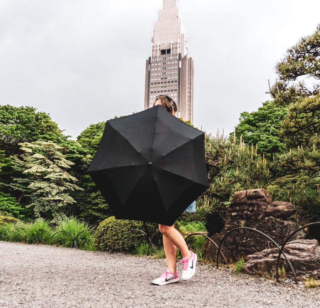 Quartier Shinkuju à Tokyo -parc