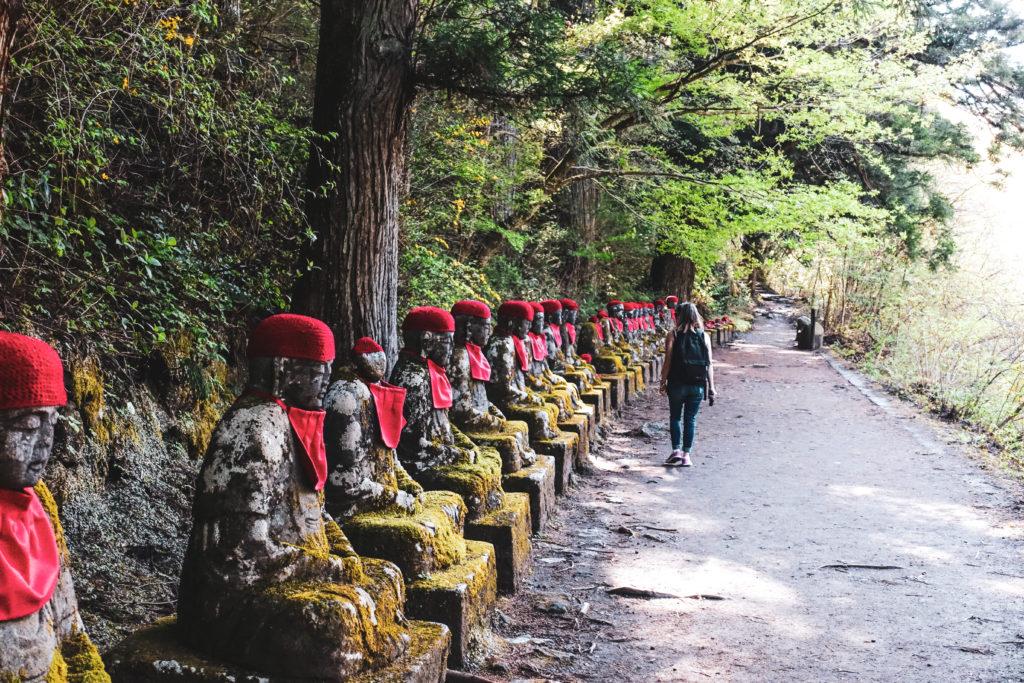 Nikko près de Tokyo- Japon bouddha Jizo