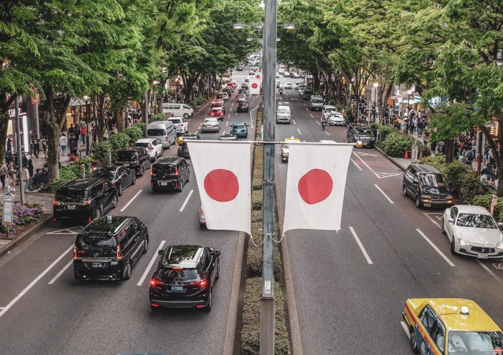 Quartier Harajuku à Tokyo - omotesando