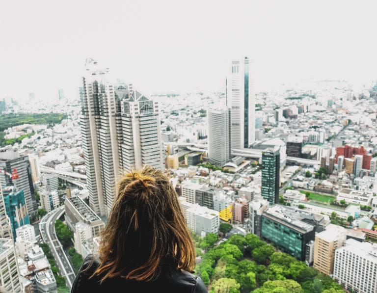 Tokyo Metropolitan Building -vue panoramique