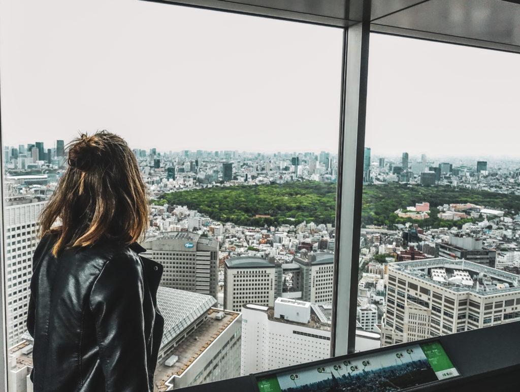 Tokyo Metropolitan Building à tokyo vue
