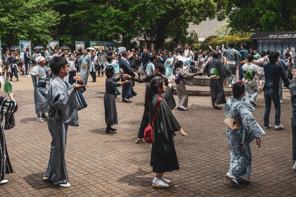 Ueno Park à Tokyo- representation