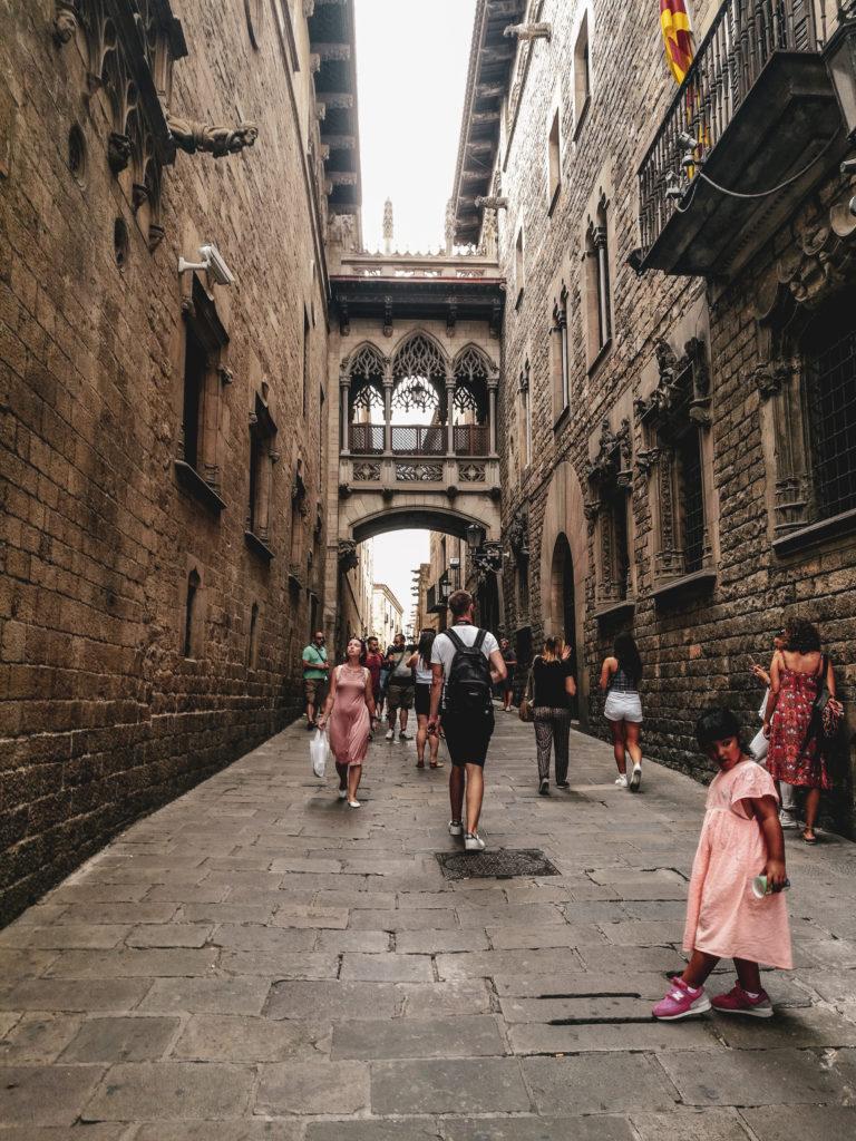 Barcelone quartier gothique coup de coeur - ruelles