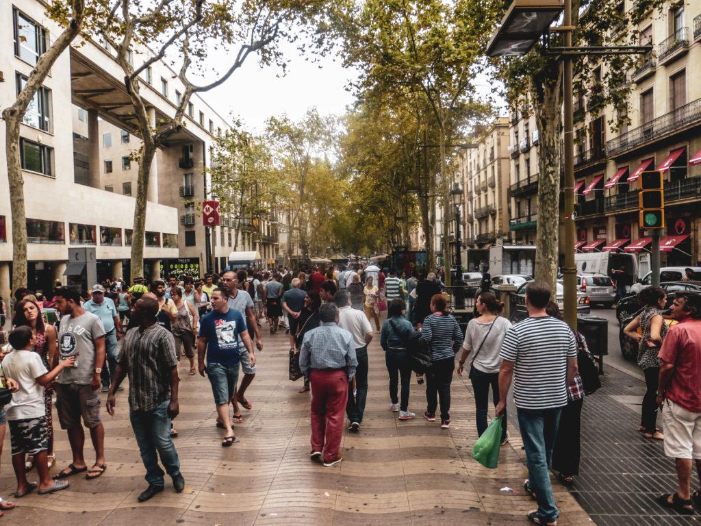 Barcelone las ramblas coup de coeur