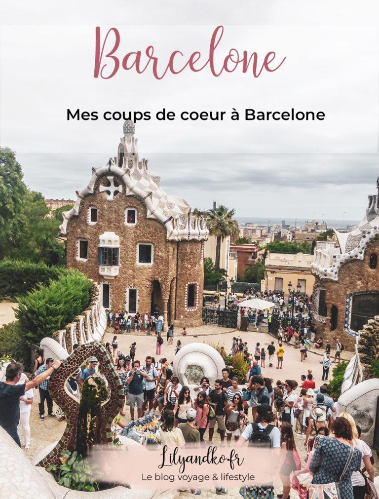 Pinterest bannière coups de coeur à barcelone