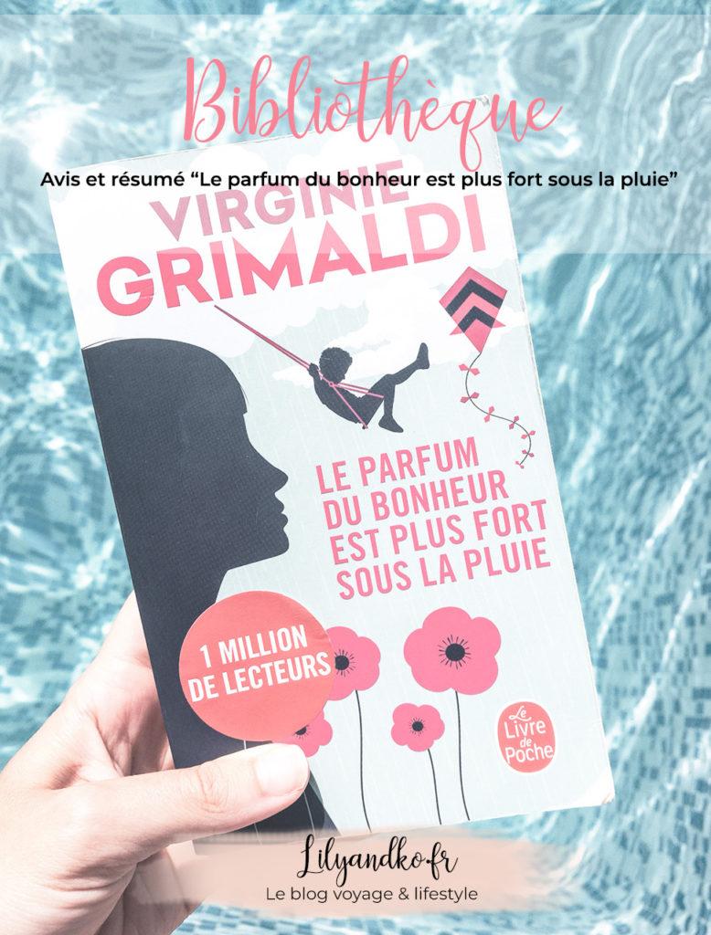Pinterest livre Le parfum du bonheur est plus fort sous la pluie virginie grimaldi