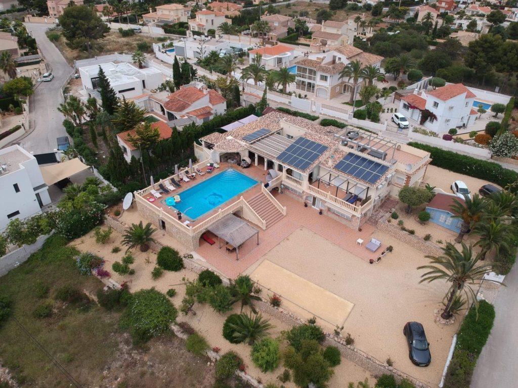 Photo drone villa