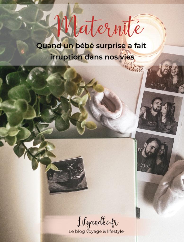 Pinterest banniere bébé surprise
