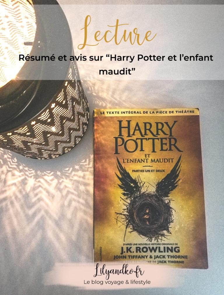 Pinterest banniere Harry Potter et l'enfant maudit
