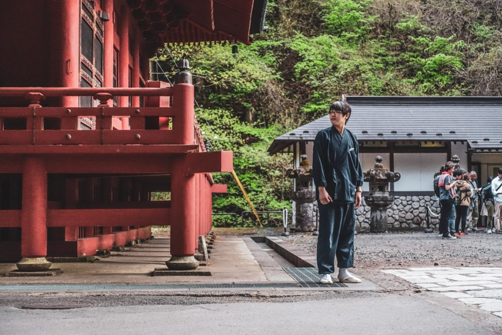 Nikko au Japon temple Taiyuin-byo